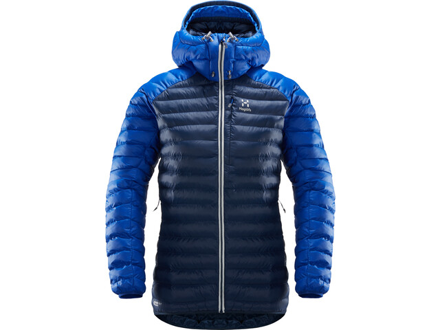 Haglöfs Essens Mimic Hood Jacket Damen tarn blue/cobalt blue